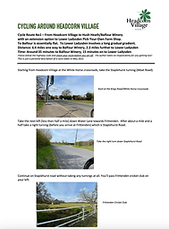 Cycle Route PDF