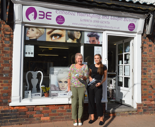 Debbie & Cassie at Enhance Hairdressing