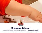 Grayson & Mummy
