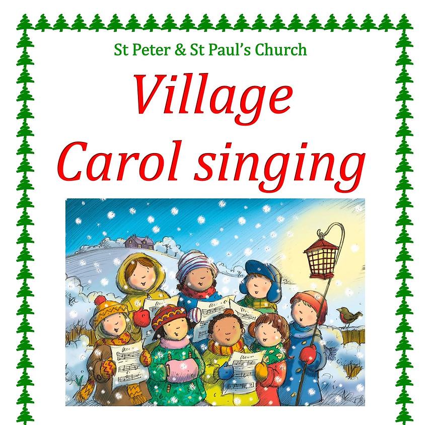Village Carol Singing (NOW CANCELLED)