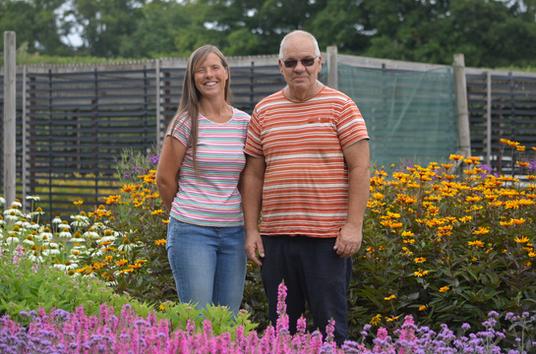 Anita & Tim from Bean Place Nursery