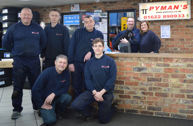Nigel, Sarah & the team at Pymans