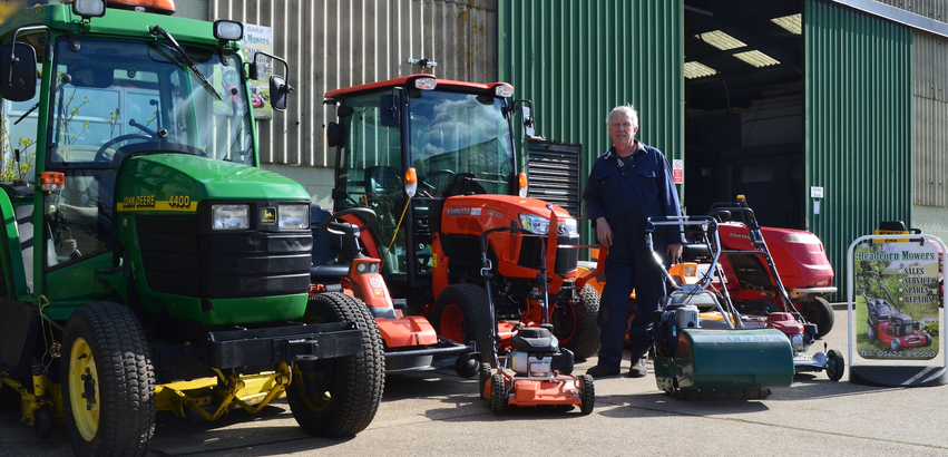 Gerald from Headcorn Mowers
