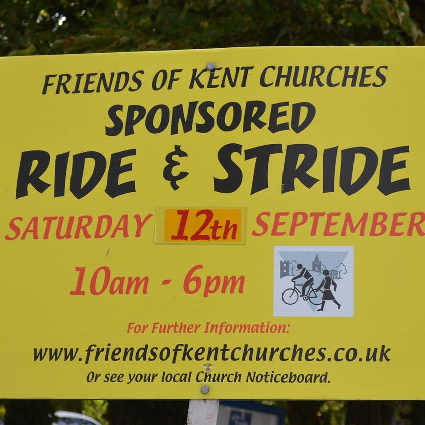 Sponsored Ride & Stride
