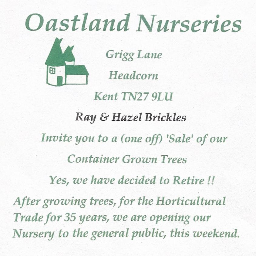 Open Weekend at Oastland Nurseries