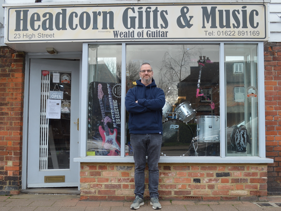 Steve at Headcorn Gifts