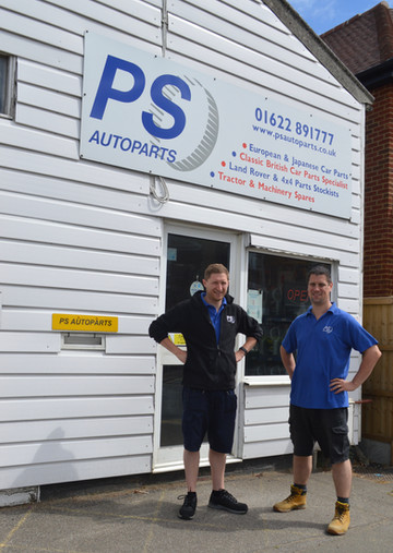 Simon & Andy from PS Autoparts