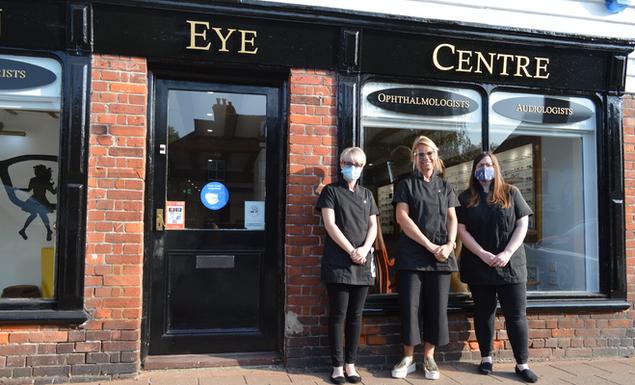 Lauren, Viv & Hannah from Headcorn Opticians