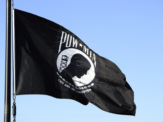 The Meaning of the P.O.W. Flag