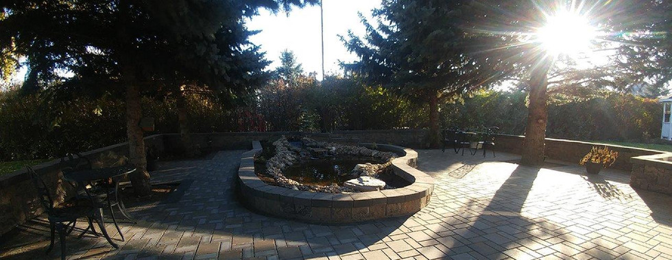 Patio & Pond Project