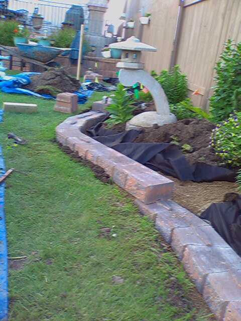 Sloped Retaining Wall