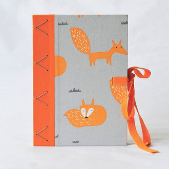 caderno Raposas bicolor