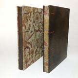 cadernos em couro