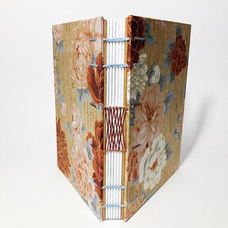caderno tecido japonês