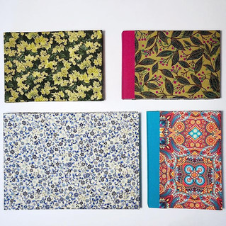 livros sewn-boards