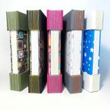 cadernos longstitch buttonhole