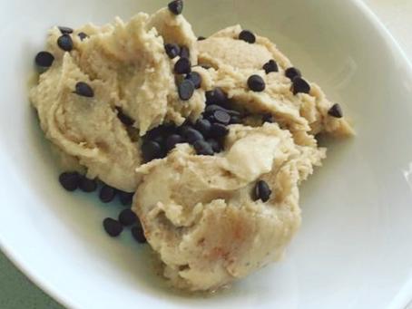 Banana, Peanut Butter and Dark Choc Chip Ice Cream
