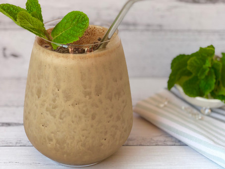 Choc Mint Coffee Smoothie