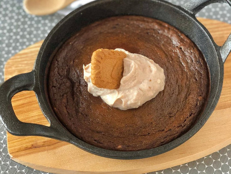 Chocolate Fudge Cake Skillet