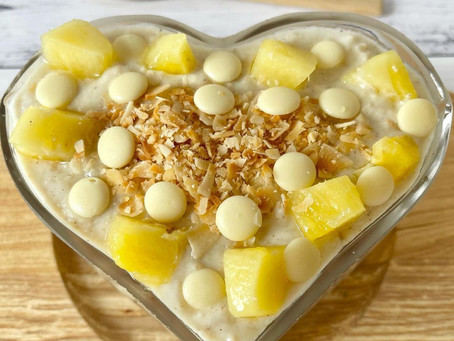 Pineapple WHITE CHOC Coconut CREAMY OATS