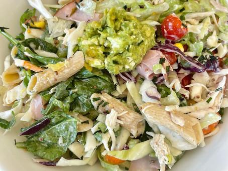 Creamy Chicken & Ham Pasta Salad