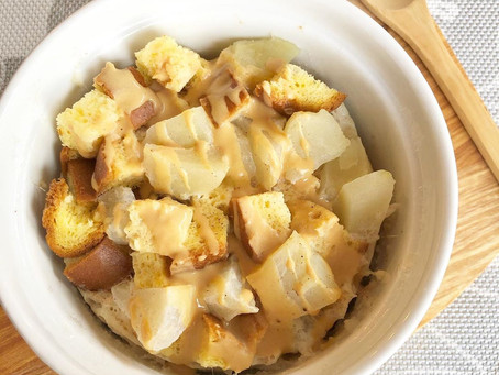 Apple and Sultana French Toast Mug Cake