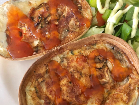 Vegetable Taco Boat Quiches