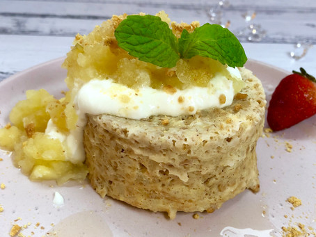 Apple Pie Protein Mug Cake
