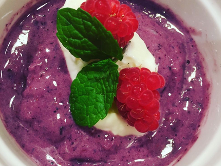 Mixed Berry Protein Fluff