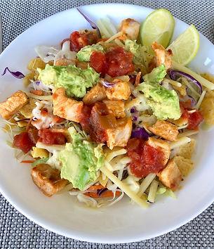 Mexican Chicken Crunchy Tortilla Salad.j
