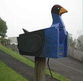 Pukeko Letterbox