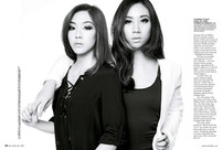 Narelle Keng & Sandra Riley Tang, singers