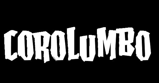 Corolumbo Schriftzug mit Claim