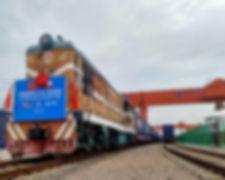 China-Europe Express Train