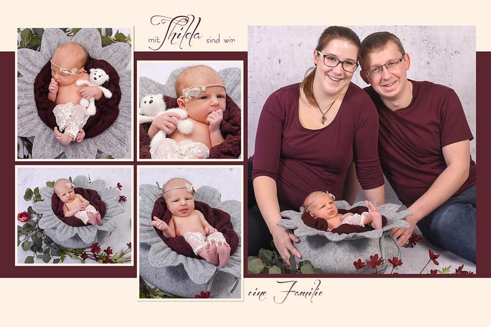 Familienfotos, Neugeborenenfotografie