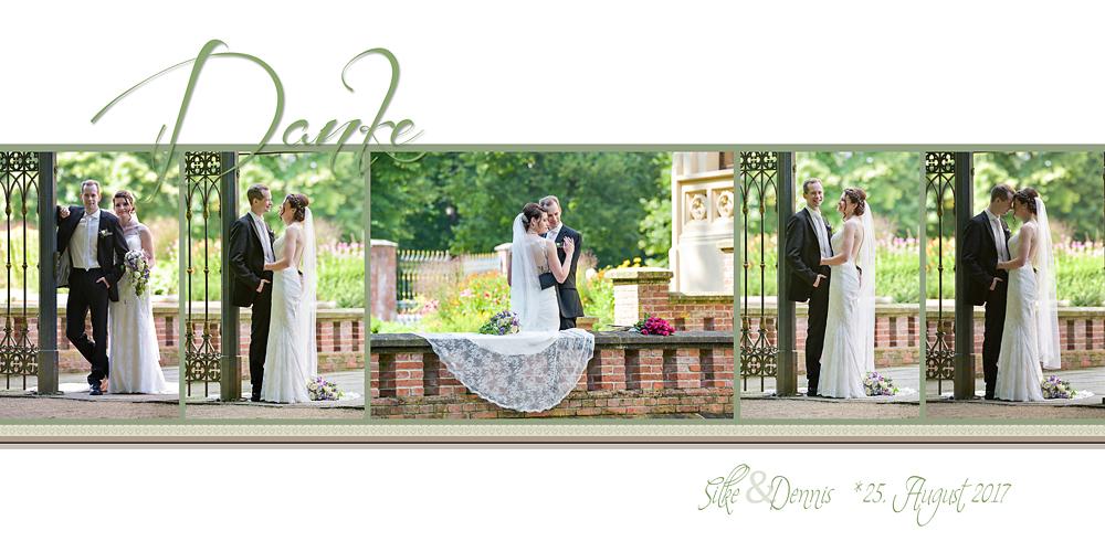 Hochzeitsfotografie, Karten, Danke