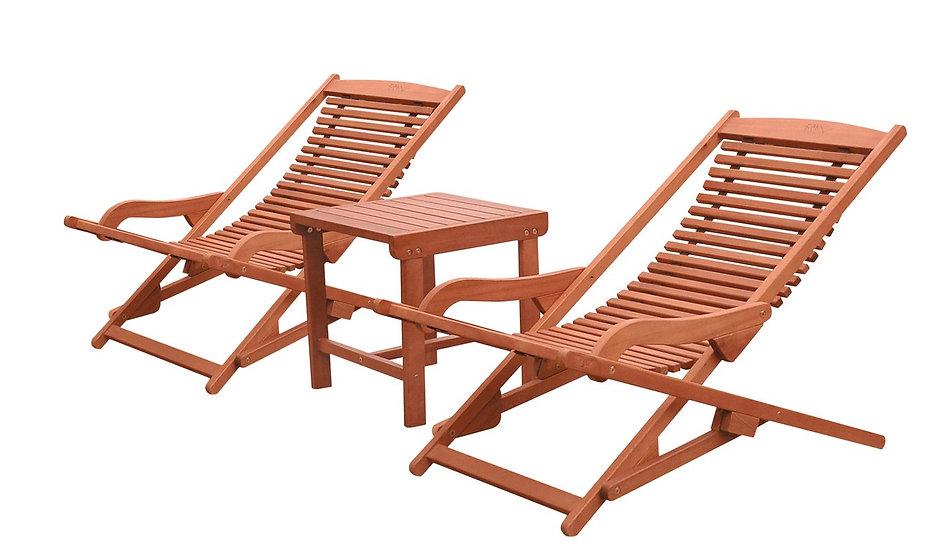 Lido Deck Chair Set