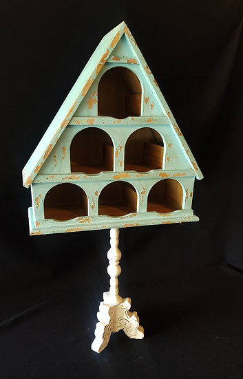 Birdhouse Display Stand