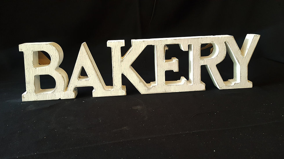 Bakery/Dessert Table Sign