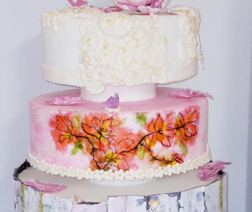 Dare to Dream Wedding Cake