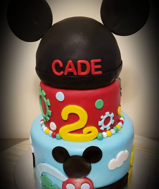 Mickeys Clubhouse Cake