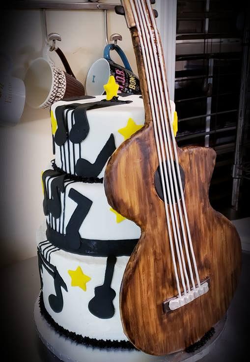 Music lovers cake