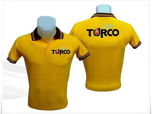 Coffee Turco Sarı T Shirt