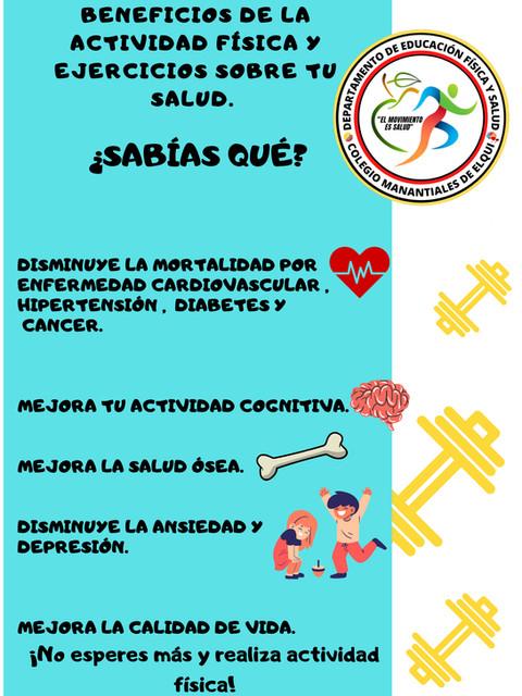 Poster 1 Actividad Física y Ejercicios