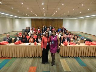 Entrega de diplomas a coordinadores del  Programa de Salud Bucal del Preescolar ADM.