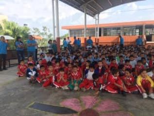 Realizan pláticas de higiene bucodental a infantes de Campeche, como parte del Programa de Cepillad