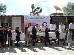 """Continua programa CEPIDI en la escuela primaria """"Independencia"""" en Zoquite Guadalupe, Zacatecas."""
