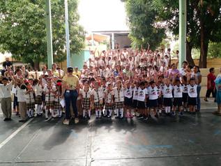 El estado de Guerrero da inicio al Programa Piloto de Cepillado Diario en escuelas primarias.