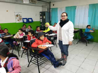 Continua el Programa de Cepillado Diario en escuelas publicas de Reynosa.