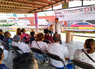 Finalizan jornadas en materia de cultura bucal, organizadas por AMEXPRO.